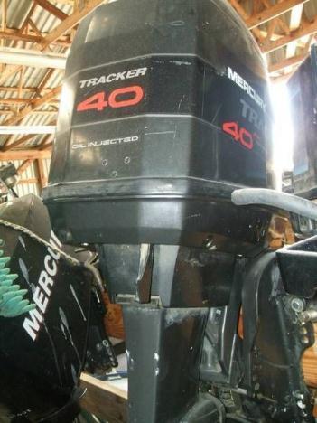 40HP Mercury Tracker