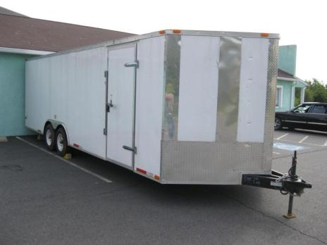 2010 Enclosed Car Hauler, 27', Heavy Duty, Lightly Used, Ready To Work