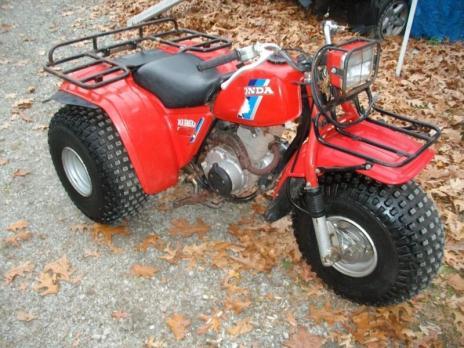 honda big red 3 wheeler motorcycles for sale. Black Bedroom Furniture Sets. Home Design Ideas