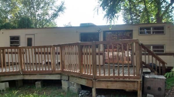 REDUCED:$7,000 Trailer w/ Lot at Indian Acres