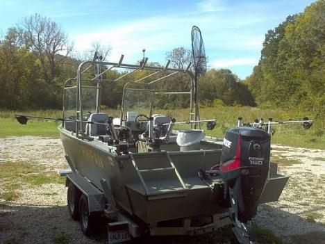 22' 2014 Custom AAD Aluminum Boat