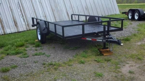 New 2014 Model 6 X 12 Tilt Trailer w/ 3500lb Axle