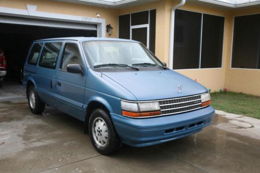 1995 Plymouth Voyager Mini Van