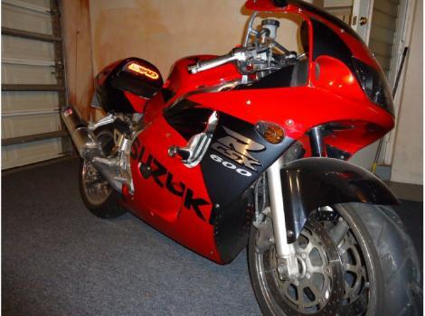 1998 Suzuki Gsx-R 600