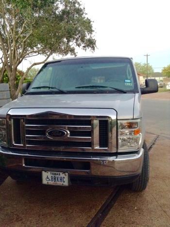 Ford E350 Super Duty For Handicapped People
