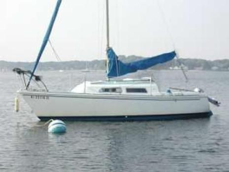 1974 O'Day 22 Sailboat and Trailer