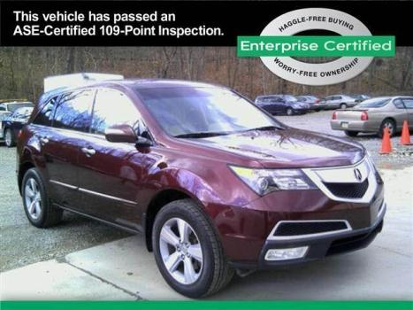 2012 ACURA MDX AWD Base 4dr SUV w/Technology Package