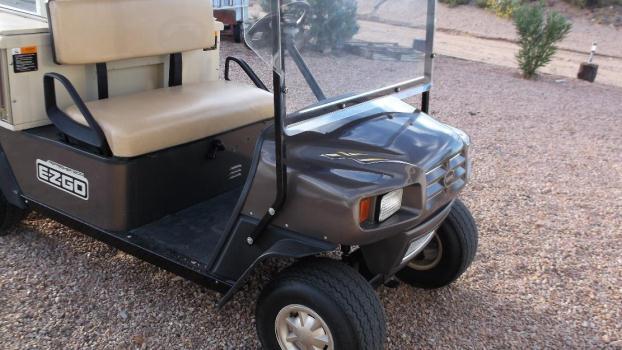 2009 ezgo gas golf cart refresher 1200.