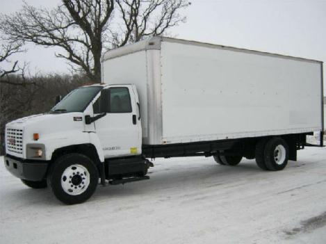 Gmc topkick c7500 moving truck for sale