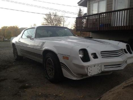 1981 Chevrolet Camaro Z28 for: $10600