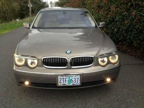 2002 BMW 745LISuper Luxury Sedan