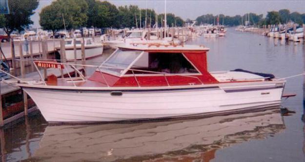 1978 Skiff Craft Custom Cabin Cruiser
