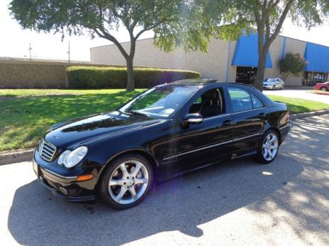 2007 Mercedes-Benz C-Class C230 Sport RWD LEATHER/ SUNROOF/ FINANCING