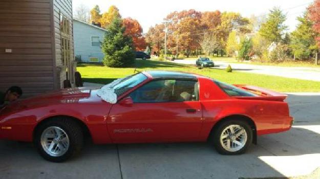 1988 Pontiac Firebird for: $9500