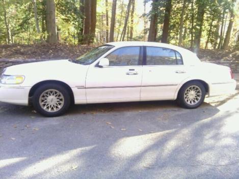 1999 lincoln cars for sale for Millner motors charlottesville va