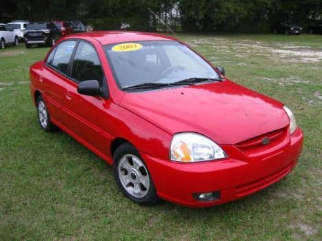 2003 Kia Rio RED GREAT LITTLE CAR EASY FINANCING CALL US NOW