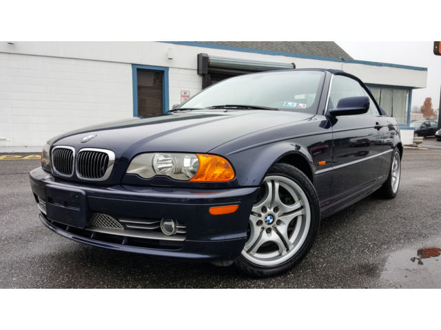 BMW : 3-Series convertible 2001 bmw 330 ci sport package m rims only 66 k miles gorgeous convertible