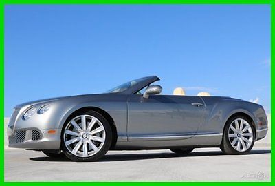 Bentley : Continental GT GTC Convertible 2-Door 2013 used turbo 6 l w 12 48 v automatic awd