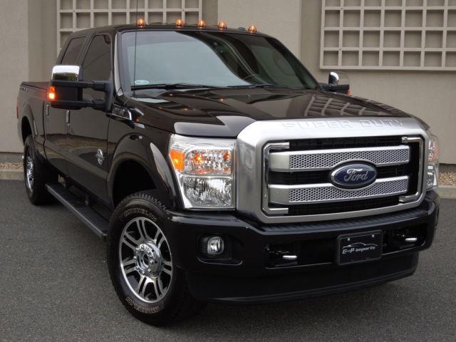 Ford : F-250 Platinum 2015 ford f 250 srw 4 x 4 crew cab platinum power stroke diesel only 5 k miles