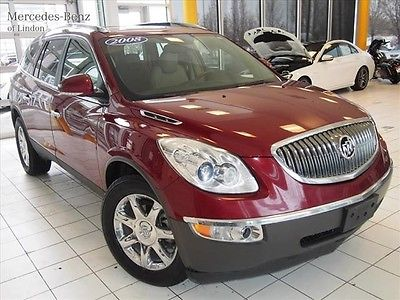 Buick : Other CXL 2008 buick enclave red tan leather cxl 3.6 v 6 all wheel drive clean