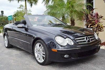 Mercedes-Benz : CLK-Class Convertible 2009 mercedes clk 350 florida convertible navigation keyless go 66 k miles