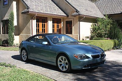 Bmw 645ci Convertible Cars for sale