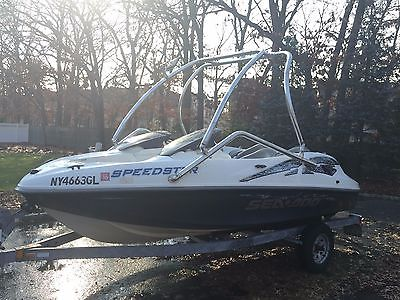 2000 seadoo speedster mercury v6 efi with wake tower