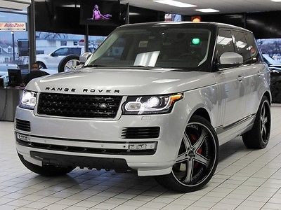 Land Rover : Range Rover Supercharged 24 Inch ASANTI's Custom Accents Supercharged 24 Inch ASANTI's Custom Colored Accents