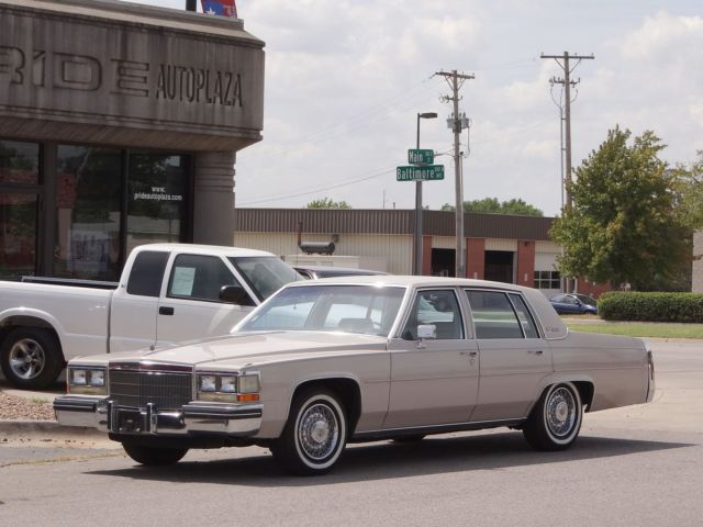 Cadillac : DeVille 4dr Sedan 1984 cadillac sedan deville collectors car immaculate 55 k extra low miles video