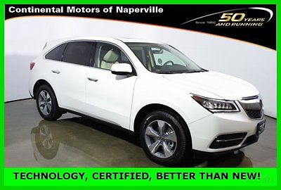 Acura : MDX Like new with super low miles 2016 certified fwd technology pkg
