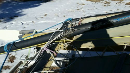 1978 Hobbie cat 16' sail boat