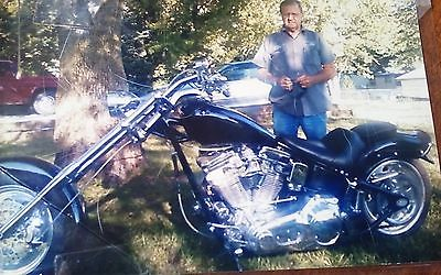 Custom Built Motorcycles : Chopper 2009 rev tech 98 ci 6 spd runs strong 1800 miles