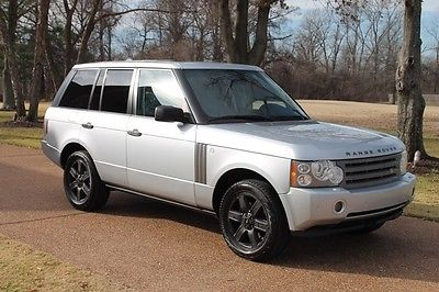 Land Rover : Range Rover HSE Lux Perfect Carfax Rear Seat Entertainment Heated Leather Entertainment 19