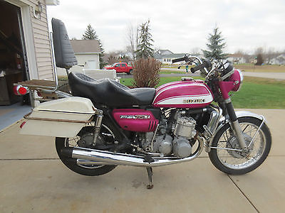 Suzuki : Other 1972 suzuki gt 750 lemans water buffalo kettle
