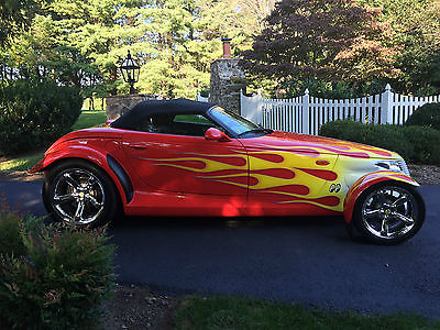 Plymouth : Prowler 2000 plymouth prowler custom paint supercharged custom bodywork custom grill