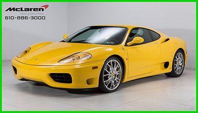 Ferrari : 360 Berlinetta 2003 berlinetta ferrari 360 v 8 automatic rwd f 1 daytona challenge style tubi