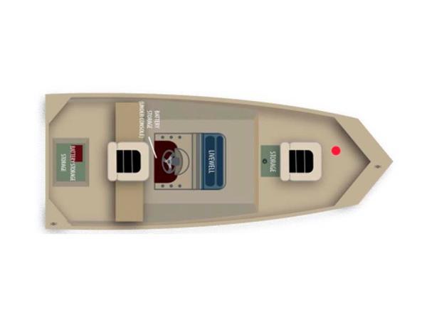2016 Alumacraft MV 1650 AW CC