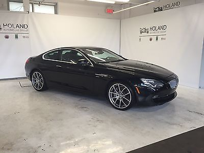 BMW : 6-Series 650xi 2012 bmw 650 xi coupe fully loaded premium 20 inch wheels