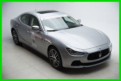 Maserati : Ghibli SEDAN - SAVE BIG MONEY - WINTER REVEL - $80K MSRP 2015 sedan new turbo 3 l v 6 24 v automatic rwd big savings