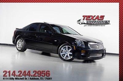 Cadillac : CTS V Sedan 4-Door 2004 cadillac cts v sedan ctsv very low miles ls 6 6 speed all original