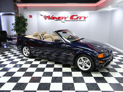 BMW : 3-Series 325Ci BMW 325ic Convertible 1 Owner Premium & Cold Pkg's Power Top Htd Leather & More!