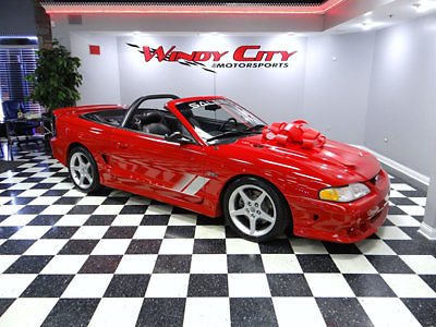 Ford : Mustang SALEEN S-281 1996 ford mustang gt saleen s 281 speedster 97 supercharged 22 k miles 1 of 234