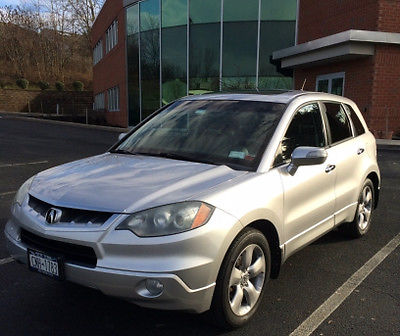 Acura : RDX Base Sport Utility 4-Door 2007 acura rdx with technology package sport utility 4 door 2.3 l turbo engine