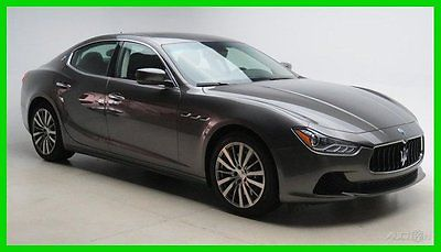 Maserati : Ghibli SEDAN - #THEMASERATISTORE #MASERATICHARLOTTE 2015 sedan new turbo 3 l v 6 24 v 8 speed zf rwd