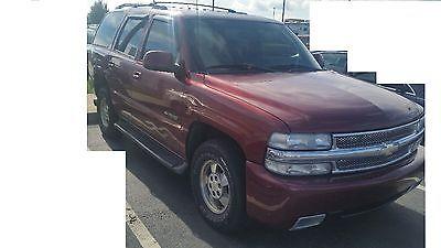 Chevrolet : Tahoe LT 2001 chevy tahoe lt