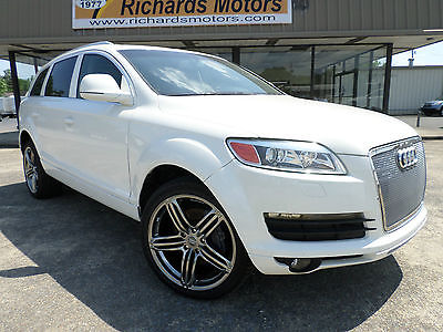 Audi : Q7 Luxury Sport Utility 4-Door 2009 audi q 7 luxury sport utility 4 door 4.2 l