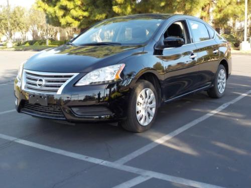 Nissan : Sentra S 2014 nissan sentra s low low miles with eco great gas milage