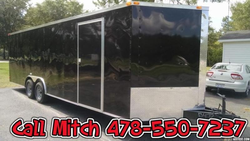 8.5 x 24 Enclosed Cargo Trailer 3500 lb Axles