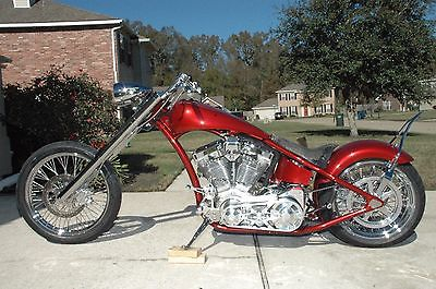 Custom Built Motorcycles : Chopper Custom Built Pro Street Chopper