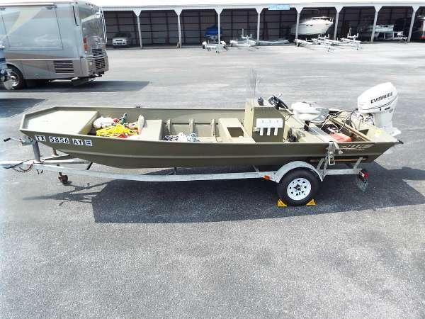 2008 Lowe L1852MT Jon Boat